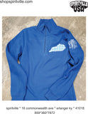 Kentucky Theme Quarter Zip