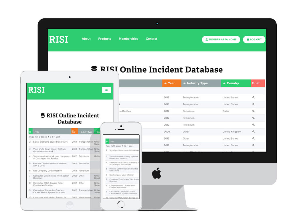 RISI Online Incidents Database Access - 12 Months