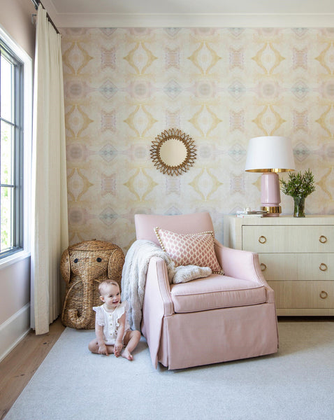 10516 Shell Pink A Standard Wallcovering