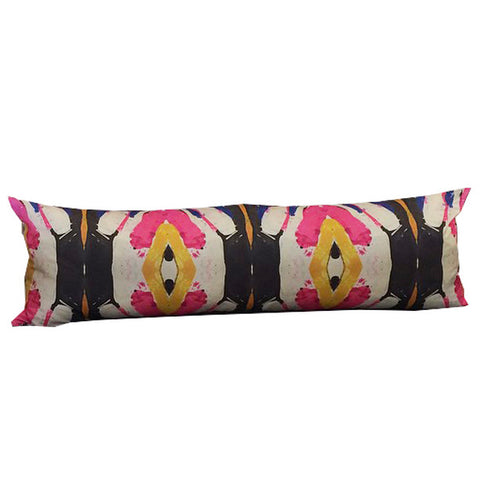 125-2 Pink Extra Long Lumbar Pillow