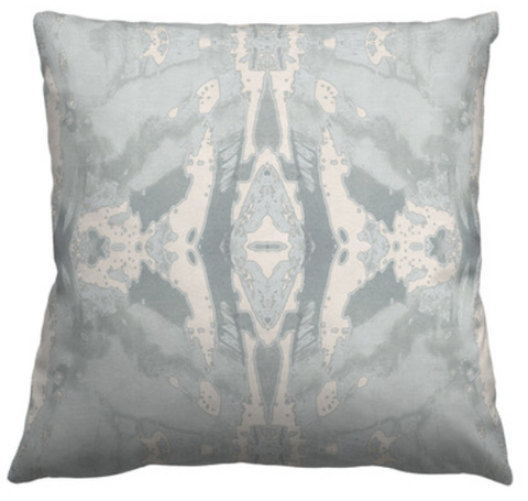 125-5 Grey Ivory Pillow Cover