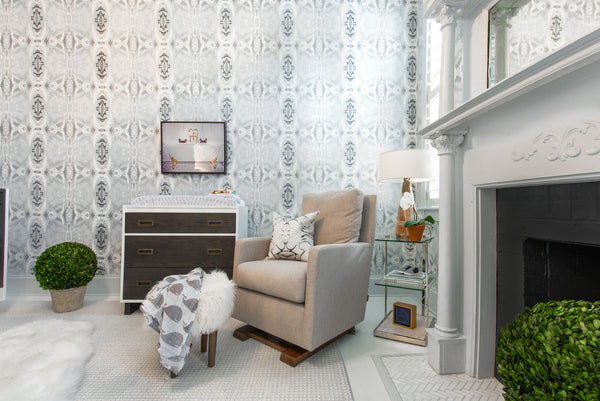 125-5 Grey Ivory A Eco-Friendly Type II Wallcovering