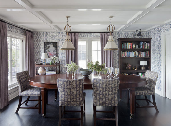 1515 Blush Navy Dining Room