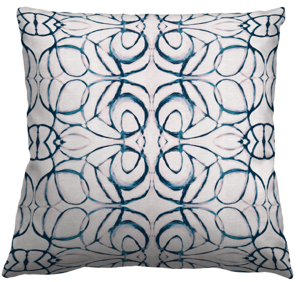 1515 Blush Navy Pillow Cover