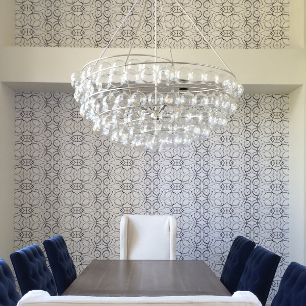 1515 Graphite Wallcovering