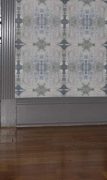 21413-3 Blue Grey Eco-Friendly Type II Wallcovering