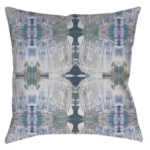 21413-3 Blue Grey Pillow Cover