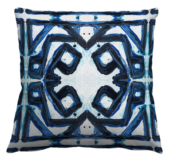 24-3 Dark Blue #1 Pillow Cover