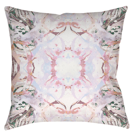 411 Peach Taupe #1 Pillow Cover