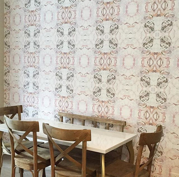 411 Peach Taupe Standard Wallcovering