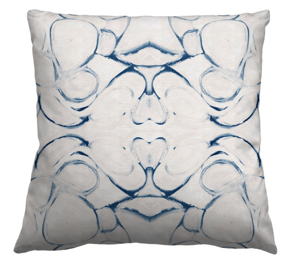 43014 Blue Pillow Cover