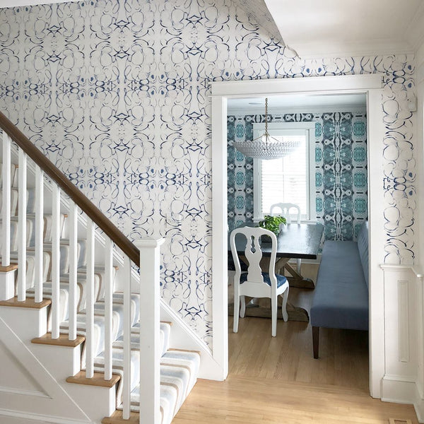 125-5 Blue Grey Standard Wallcovering