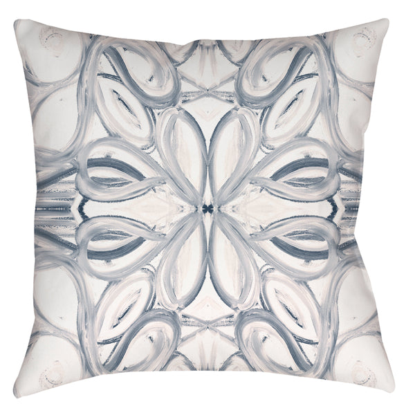 5114 Blue White Pillow Cover