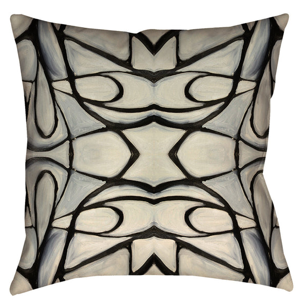 51514 Black White Pillow Cover