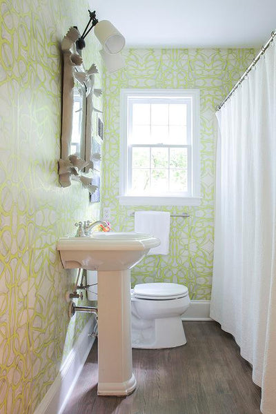 51514 Chartreuse Standard Wallcovering