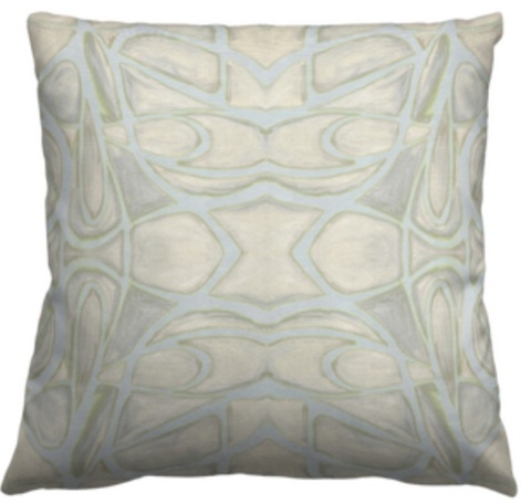 51514 Grey Chartreuse Pillow Cover