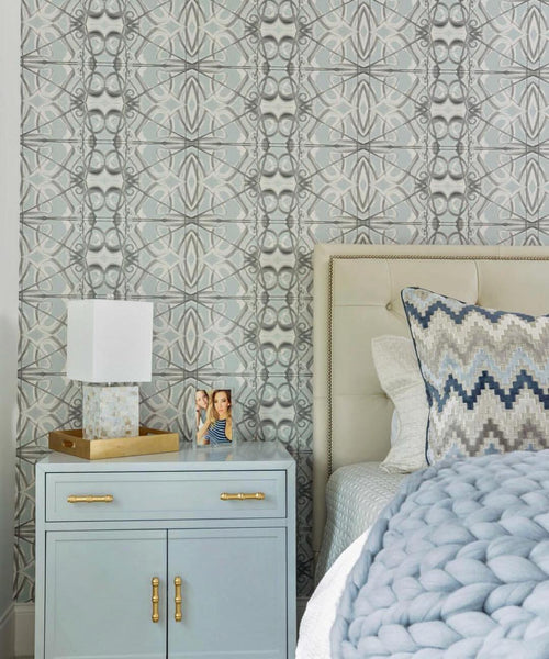 5214 Grey Blue Standard Wallcovering
