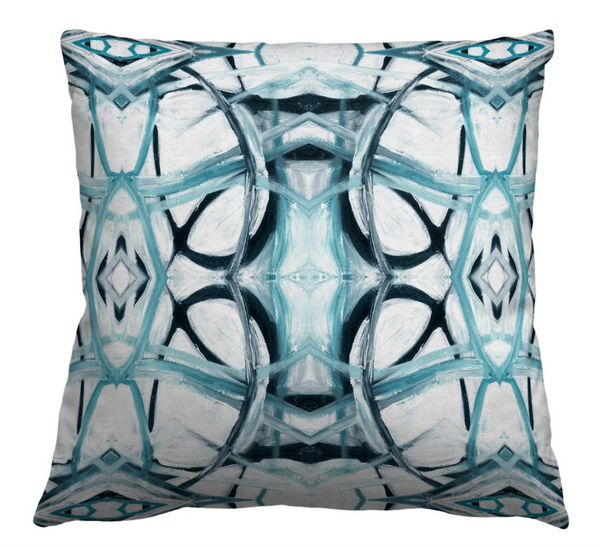 6314-3 Aqua Pillow Cover
