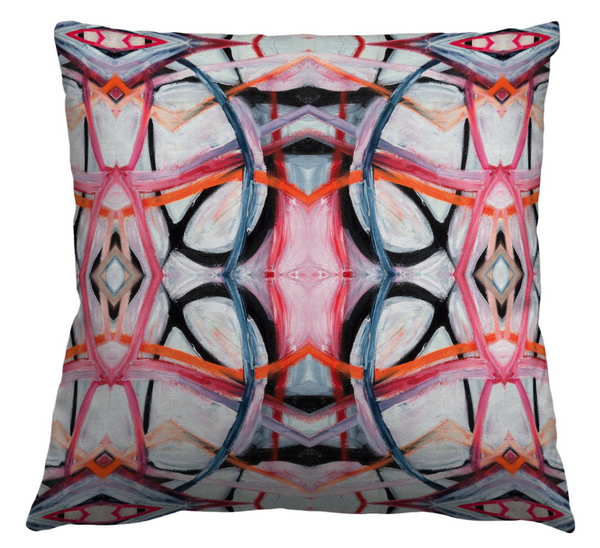 6314-3 Pink Pillow Cover
