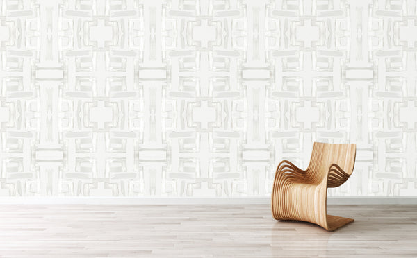 81613 Lily White Eco-Friendly Type II Wallcovering