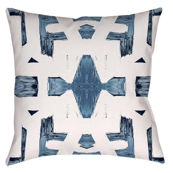 82113 Indigo Ocean #1 Pillow Cover
