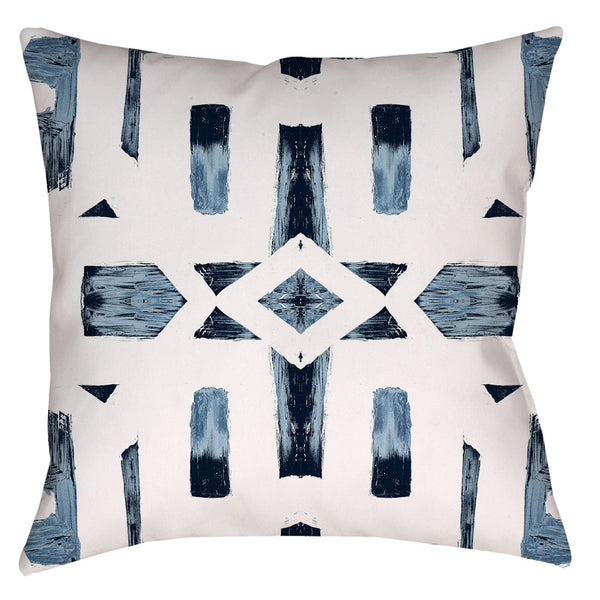 82113 Indigo Ocean #2 Pillow Cover