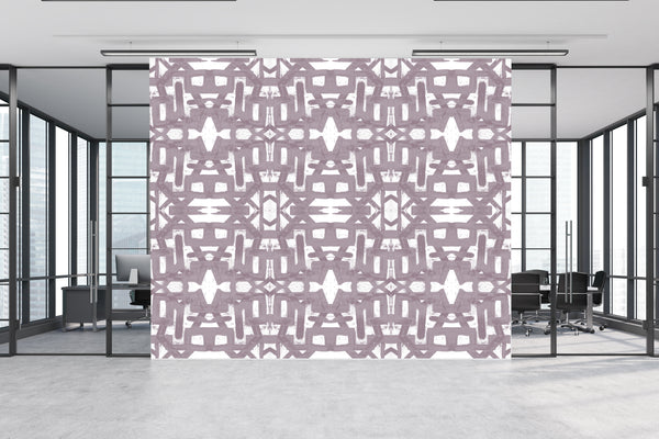 82113 Dusty Purple Alta Non-Woven Wallcovering