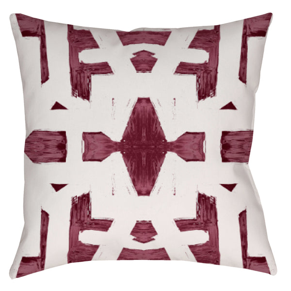 82113 Oxblood #1 Pillow Cover :: IN STOCK