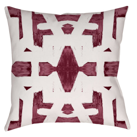82113 Oxblood #1 Pillow Cover