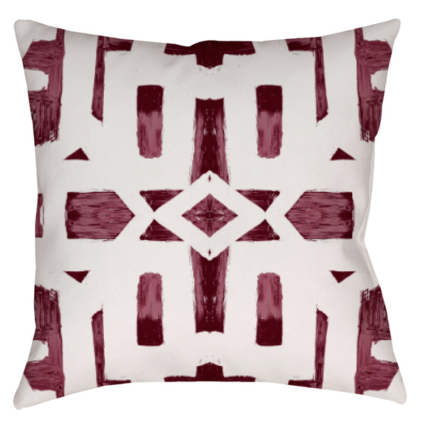82113 Oxblood #2 Pillow Cover