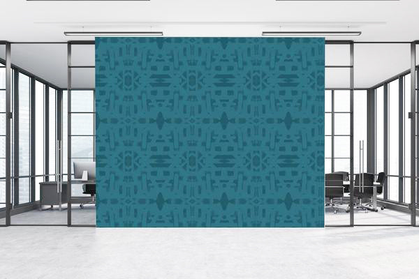 82113 Teal Alta Wallcovering