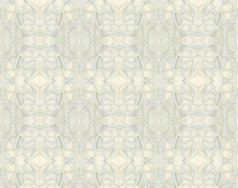 51514 Grey Chartreuse Wallcovering