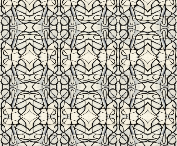 51514 Black White A Type II Wallcovering