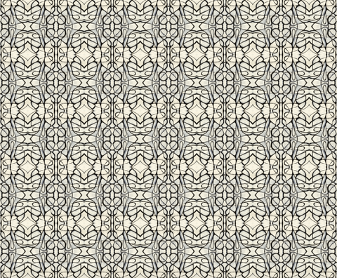 51514 Black White B Standard Wallcovering