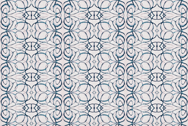 1515 Blush Navy Fabric
