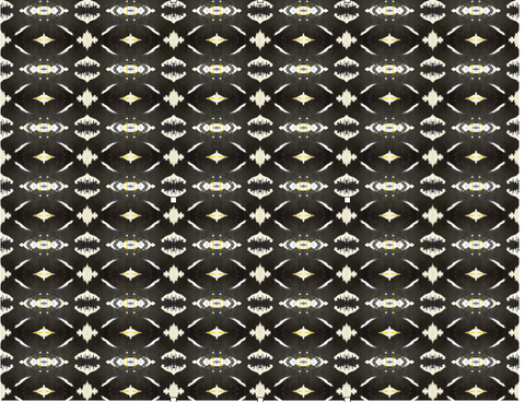 125-4 Black Yellow B Standard Wallcovering
