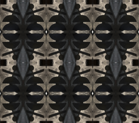 10418 Washed Black Alta Non-Woven Wallcovering: lindsay cowles llc