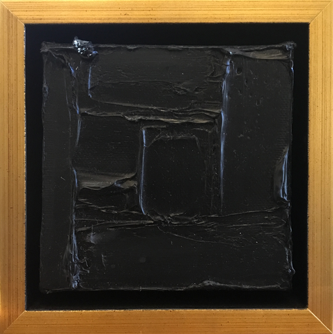 Black Gold Framed Mini