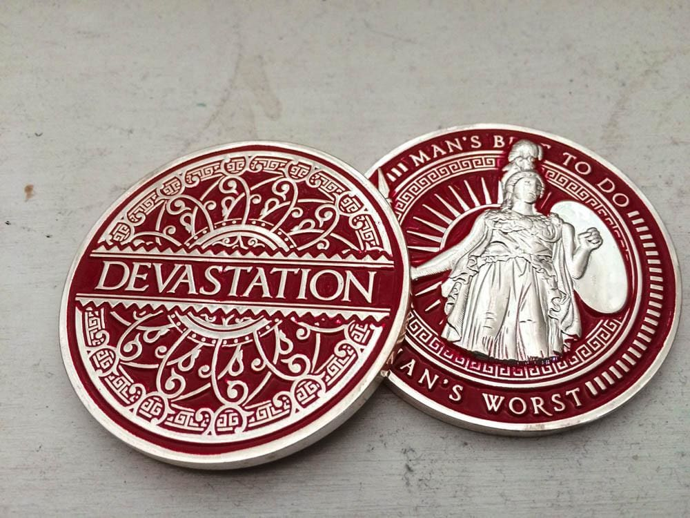 Devastation Playing Cards - Dealer Coins