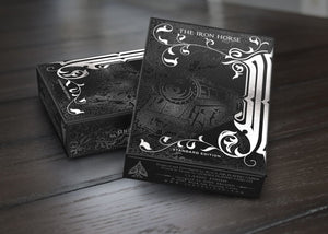 The Iron Horse Playing Cards - The Black Ink Edition