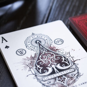 Devastation - The Silver Edition - Playing Cards