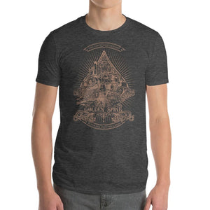 Golden Spike - 150th Anniversary Edition T-Shirt - S - T-Shirts