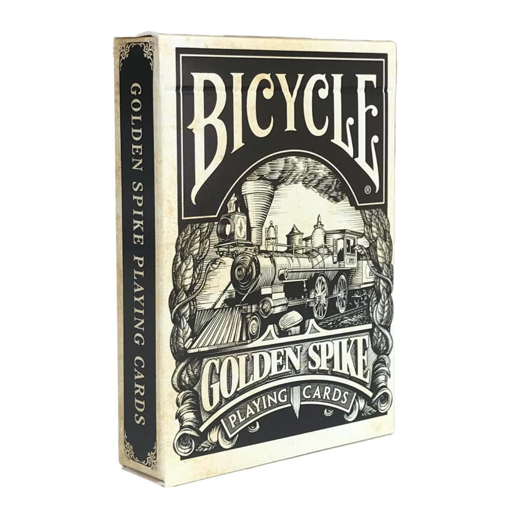 Golden Spike - Bicycle Edition - Playing Cards