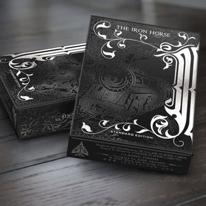 The Iron Horse Black Ink Edition Playing Cards - Playing Cards