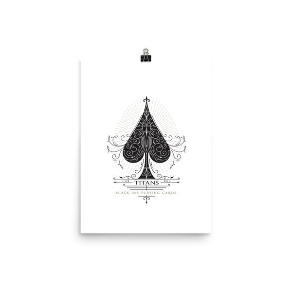 Titans Ace of Spades Art Print - Prints