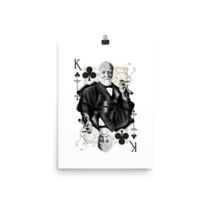 Titans King of Clubs Art Print - 12×16 - Prints