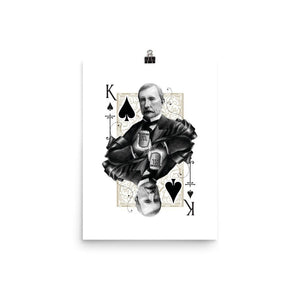 Titans King of Spades Art Print - 12×16 - Prints