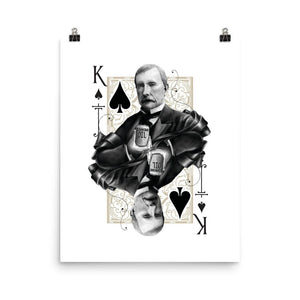 Titans King of Spades Art Print - 16×20 - Prints