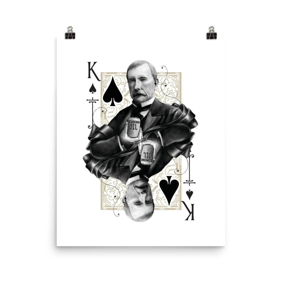 Titans King of Spades Art Print - 8×10 - Prints