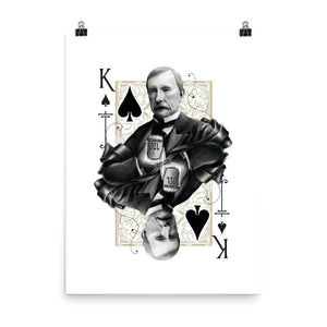 Titans King of Spades Art Print - 18×24 - Prints